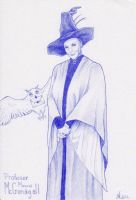 Professor McGonagall by ChristinaMandy