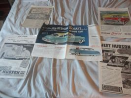 Hudson Hornet Car Ad Collection 1 by k-h116