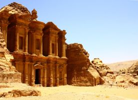 The Monastery at Petra by sapphiresphinx