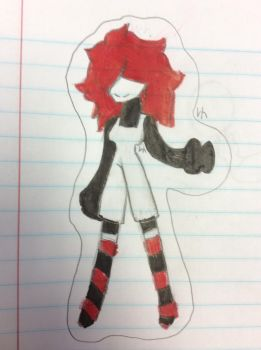 Black, White, And Red Grinny by BonnieVsBonbon