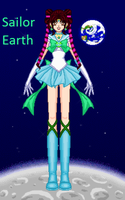 Sailor Earth SSMU by monsterhighlover3