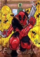 Deadpool PSC by Foreman by chris-foreman