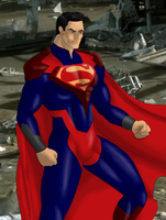 Injustice Superman by Music-S-Brush