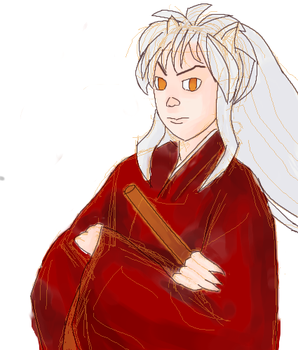 Day 05- Inuyasha by Airpuppet
