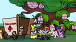 A Beautiful Day in Equestria 20 - Amberlamps by petirep