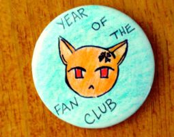fan club button: teal by scullylam