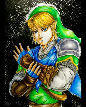 Link - The Silent Warrior by Monesh98