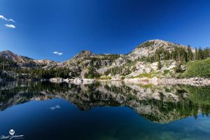 Smoothness of Lake Mary by mjohanson
