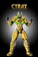 Cyrax Concept Concept Render by TheGeckoNinja
