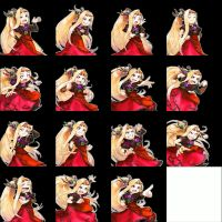 Kid Icarus Uprising Viridi's Expressions Template by RabnadSkubla