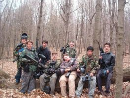 Paintball Day Out by goodben