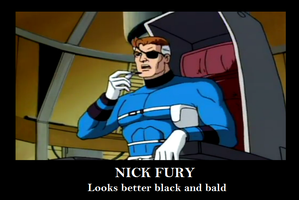 Nick Fury by Endeavor4ever