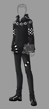 [closed] Auction BW Outfit men 16 by YuiChi-tyan