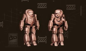 Robotech Mecha by Bamboo-Learning