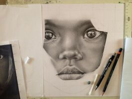 Little girl Africa - WIP 4 by Lianne-Issa