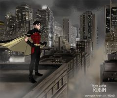 Young Justice Dick grayson by woooodi