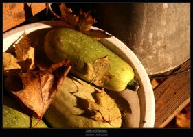 Leaves and Marrows by Gustavs