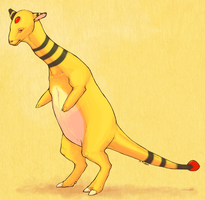 Ampharos by goosechimera