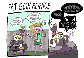 Fat Goth Revenge by Galago