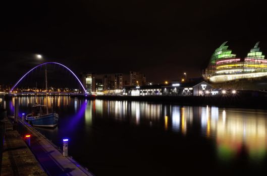 Newcastle by M-Hutcheson