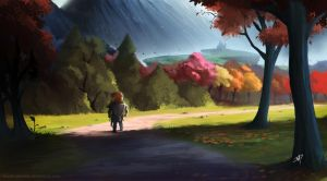 Castle's Road by mullerpereira