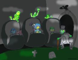 Emotions At Disneyland: Haunted Mansion by CraigTheCrocodile
