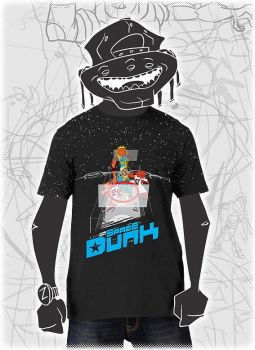 Space Dunk T-Shirt by SaneaUreti