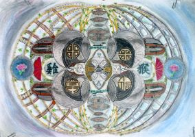 Spheres of bright courage by dreamdiaryfineart