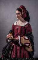 Tudor stock 3 by DanielleFioreModel