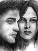 Twilight - Bella and Edward by KJS-1