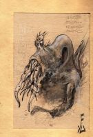 cthulhu sketch by fiend-upon-my-back