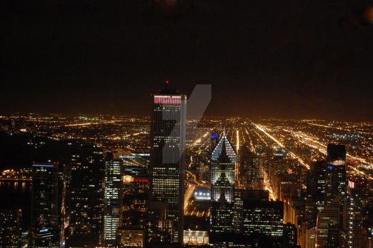 chicago by night by let-me-be-yours