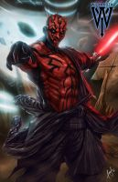 Darth Maul by wizyakuza