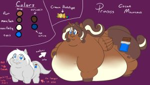 Princess Cocoa Mountain reference by GLWuffie