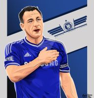 John Terry  by kalongart