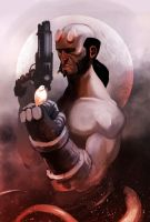 Hellboy by PointLineArea