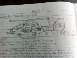 Movska FAH-38B Attack Helicopter by Target21