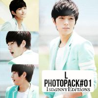 L (Infinite) - PHOTOPACK#01 by JeffvinyTwilight