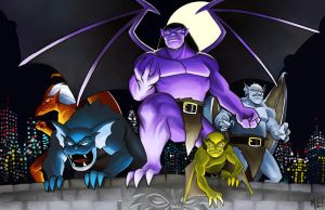 Gargoyles Color by MasonEasley