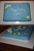 Cinderella sheet cake by ayarel
