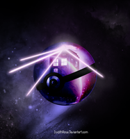 Time and Relative Dimension in a Pokeball in Space by IsidithRose