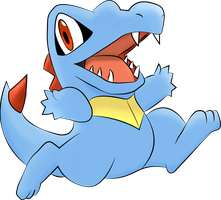 Totodile by HardVector