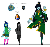 Updated/Final Fusion - Ammolite by Kiki-Hyuga