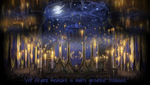 Pottermore Background: Ravenclaw Great Hall by xxtayce