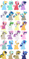 Mlp Shipping Foals Offer To Adopt*open* by NeVerDark1211