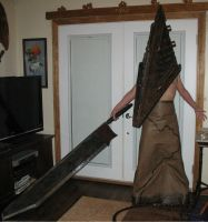 Silent Hill Film Red Pyramid Cosplay by TheDarkAssassin444