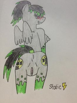 Toxic Tears NSFW pic by Staticpegasus