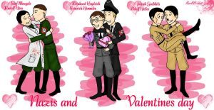 Nazi Valentines day by HerHH-Idiot