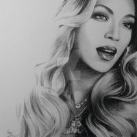 Beyonce by FromPencil2Paper