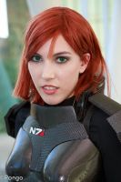 FemShep Cosplay Close up by Viverra1